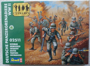 Revell 1/72 RV02511 German Panzer Grenadiers 1940-43 (WW2)